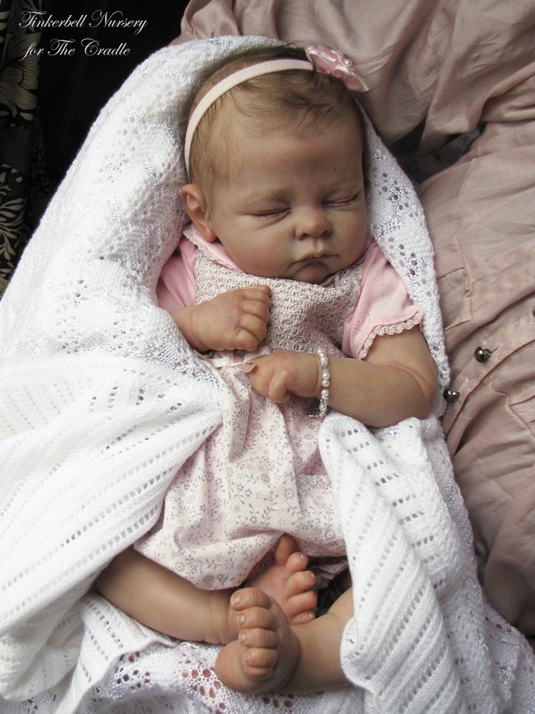 Tinkerbell Reborn Baby Newborn Doll By Helen Jalland Ebay