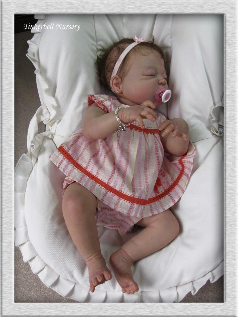 tinkerbell nursery cameron baby doll reborn helen jalland sculpt sheila michael ebay. Black Bedroom Furniture Sets. Home Design Ideas