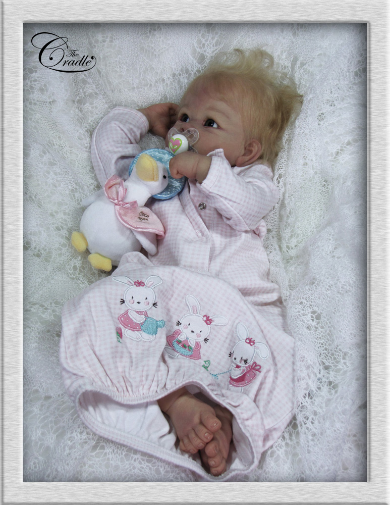 The Cradle Linda Murray Baby Doll Reborn By Helen Jalland