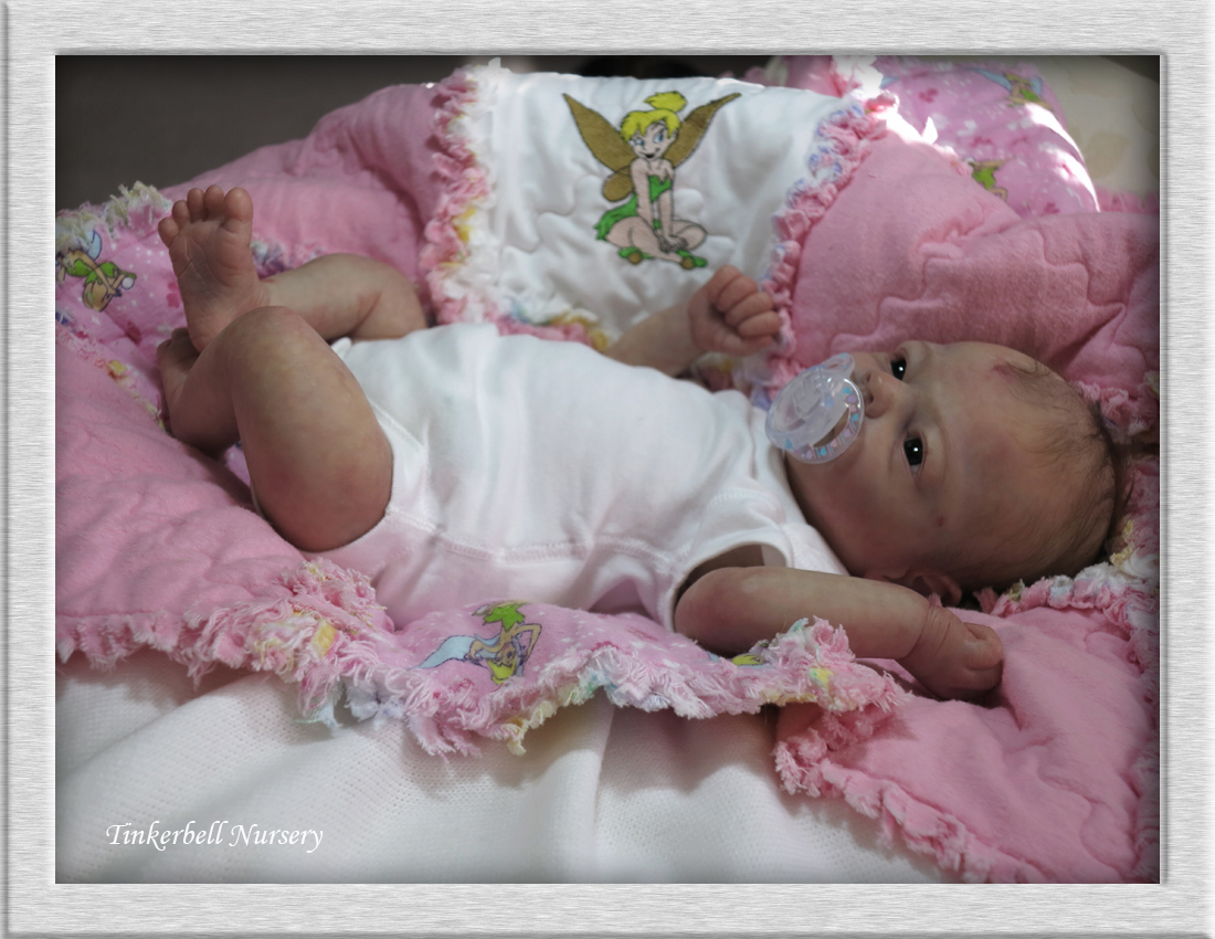 Tinkerbell Nursery Newborn Baby Doll Reborn By Helen