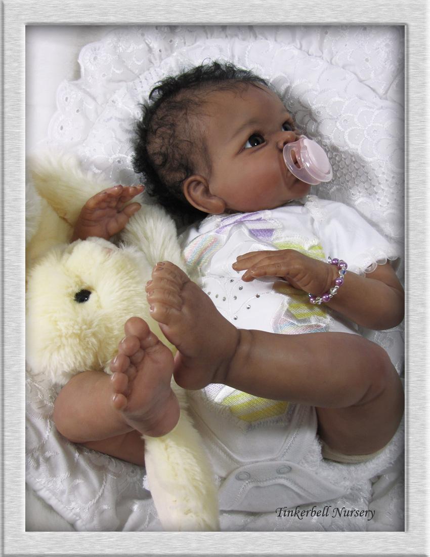 Tinkerbell Nursery Prototype Baby Reborn Doll By Helen